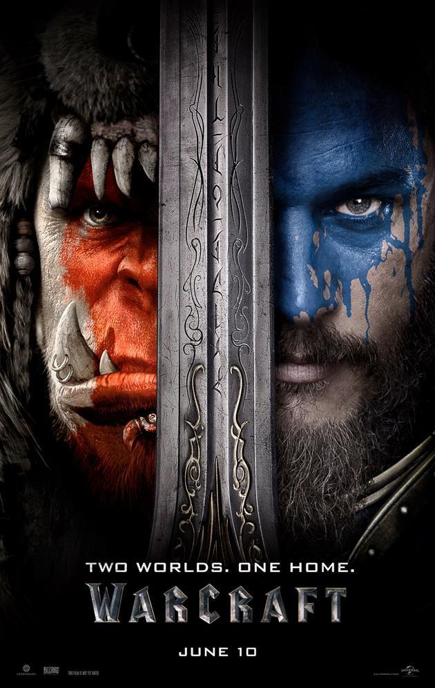 Affiche officielle du film Warcraft