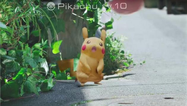 Capturer Pikachu dans Pokémon GO