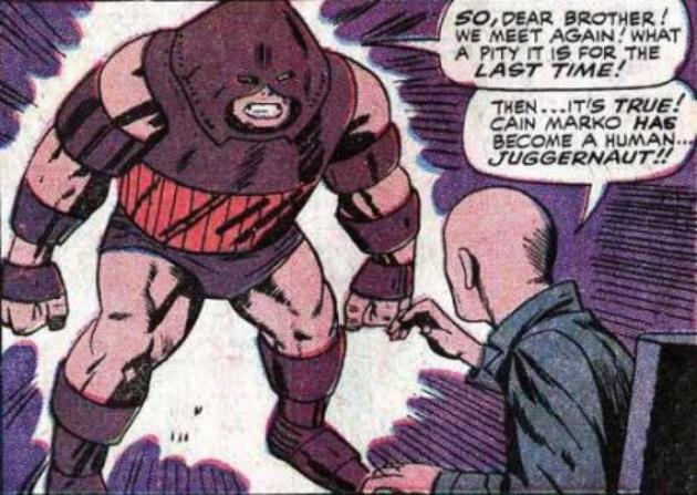Charles Xavier et Juggernaut