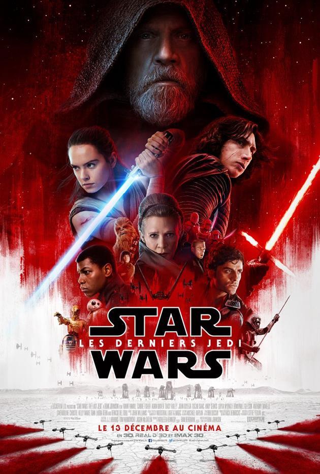 Affiche de Star Wars 8 Les Derniers Jedi