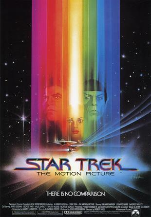Affiche originale du premier Star Trek