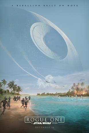 Affiche teaser de Star Wars Rogue One