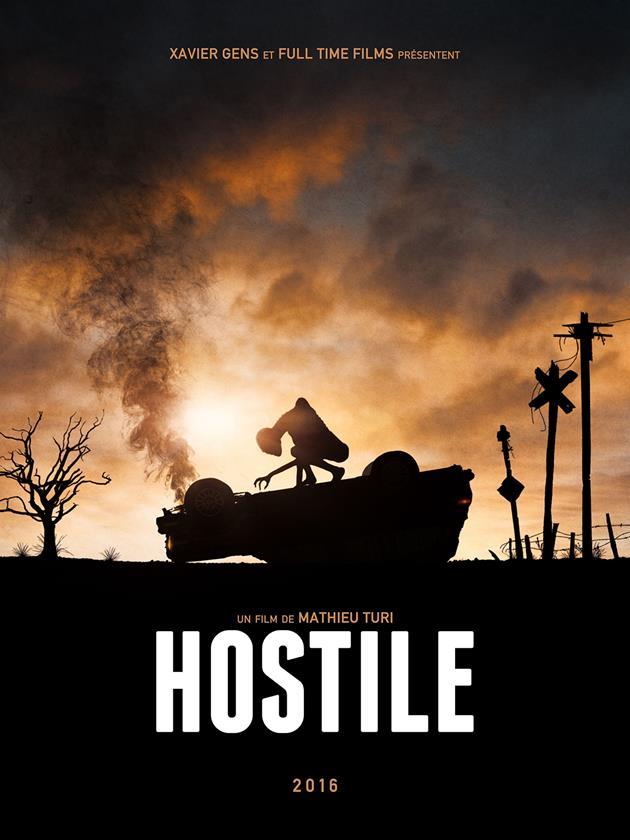 Affiche teaser hostile
