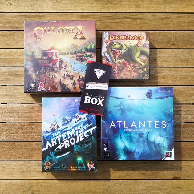 Box de jeux de société Le Coffre des joueurs 15