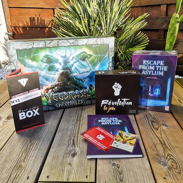 Box jeux de société Le coffre des joueurs 13