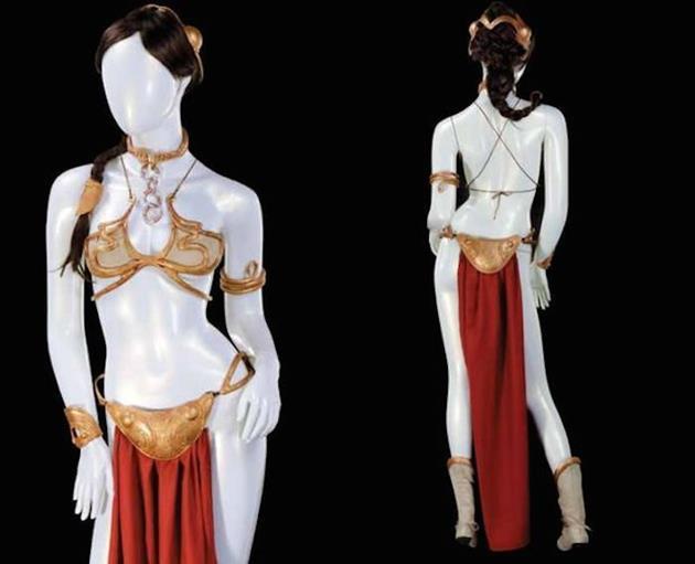 Conception du bikini de Leia