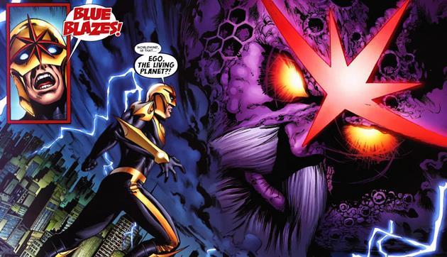 Ego dans des comics plus récents