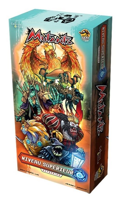 Extension jeu Mutants Niveau Supérieur