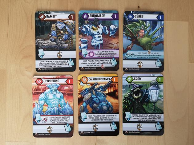 extension Mutants cartes