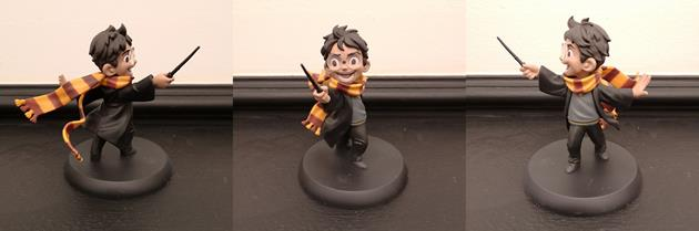 Figurine Qmx Harry Potter Wootbox