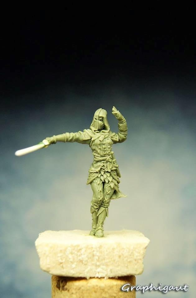 Figurine : swordman