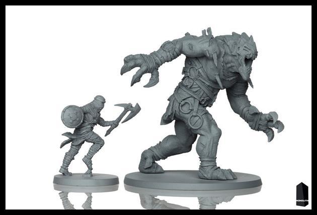 Figurines : éclaireur + démon