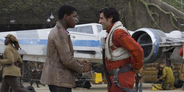 Finn et Poe Dameron