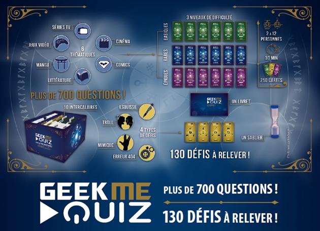 GeekMeQuiz : catégories