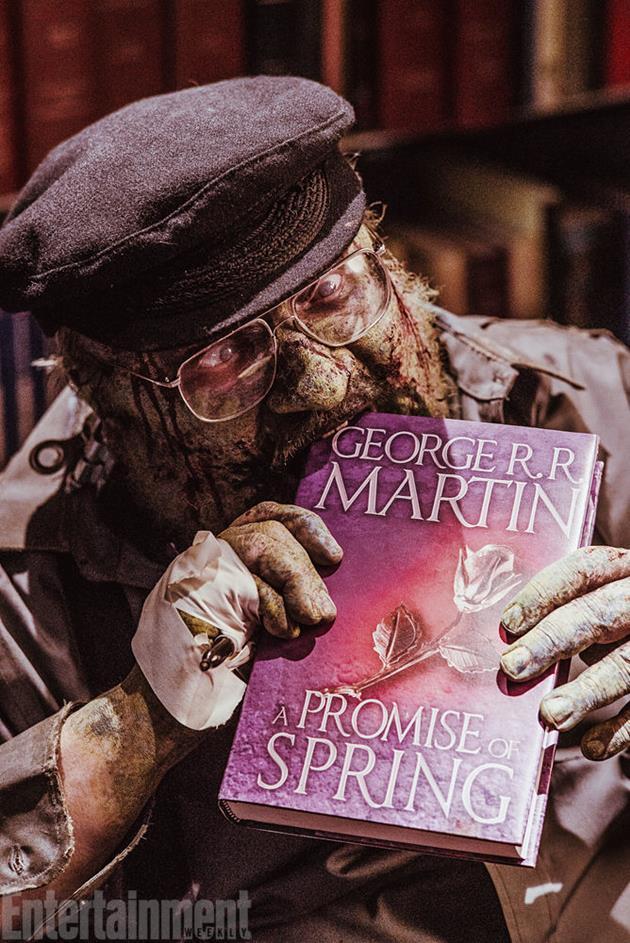 George R.R. Martin en zombie de lui-même