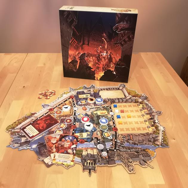 jeu La Cour des Miracles box le coffre des joueurs