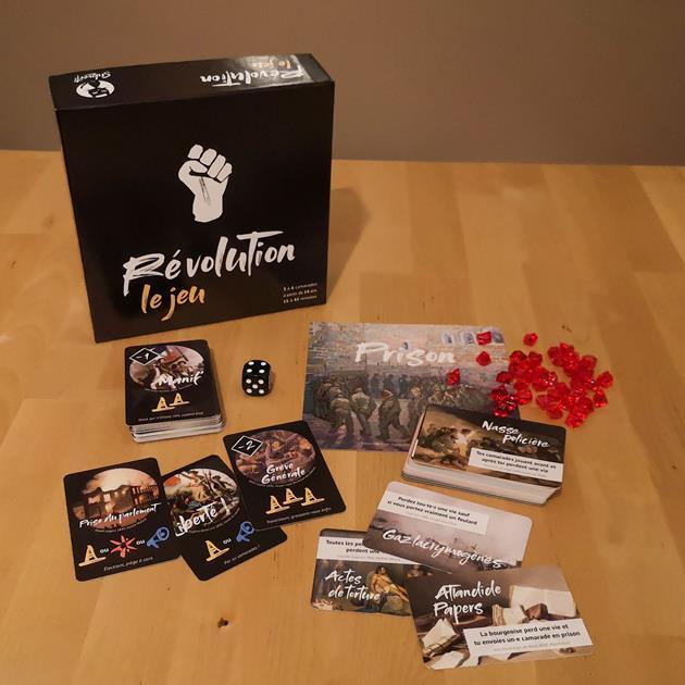 jeu Revolution box le coffre des joueurs