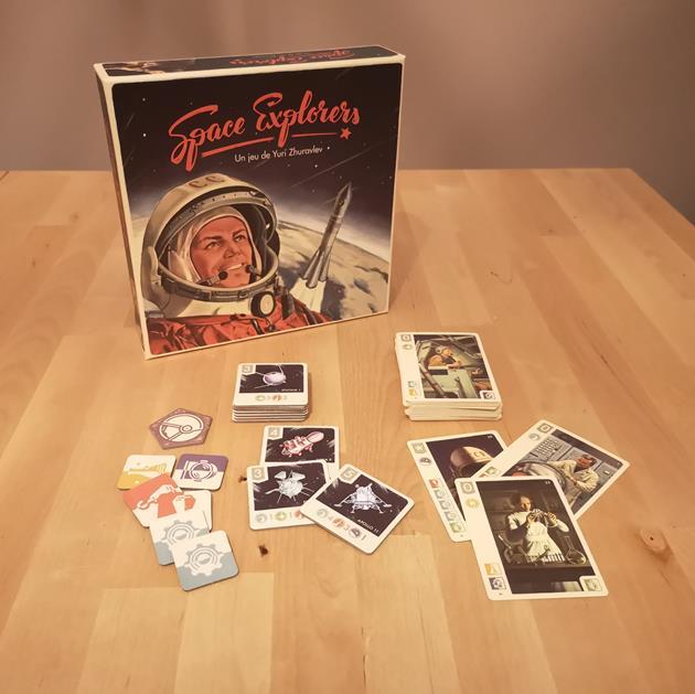 jeu Space Explorer box le coffre des joueurs