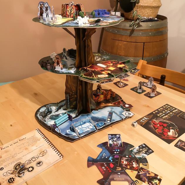 jeu Yggdrasil Chronicles box le coffre des joueurs