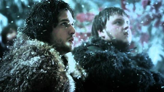 Jon Snow et Sam de la Garde de Nuit