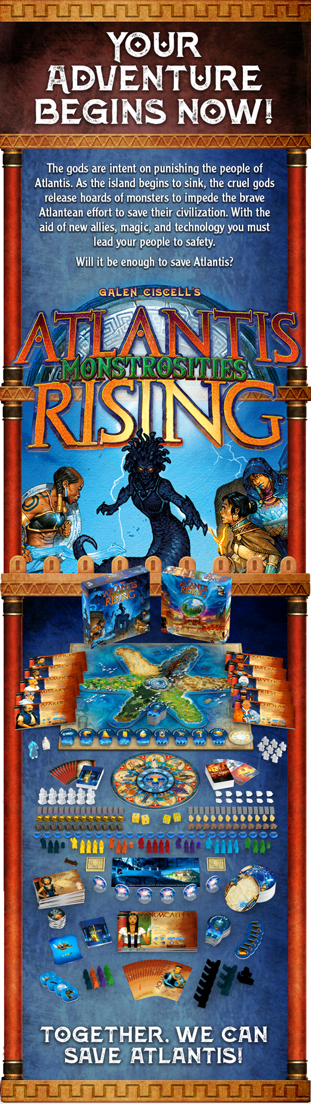 Kickstarter Atlantis Rising