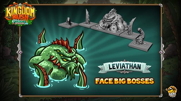 Kingdom rush Element uprising big boss