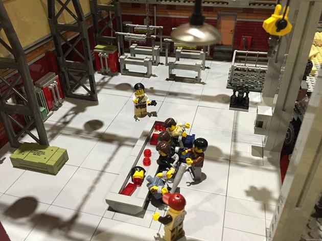 L'abattoir de Terminus en LEGO