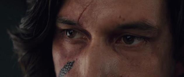 La cicatrice de Kylo Ren