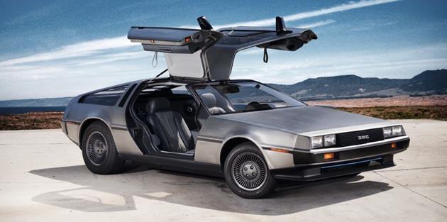La DeLorean dans toute sa splendeur