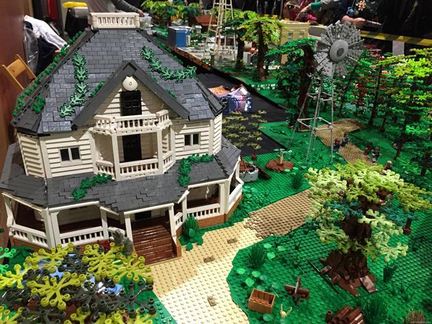 La ferme de Hershel en LEGO