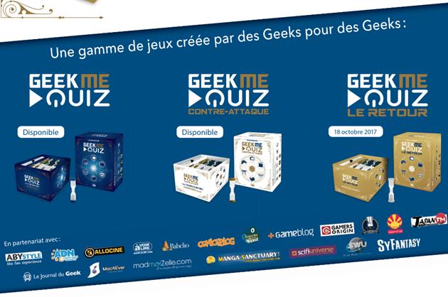 La gamme GeekMeQuiz