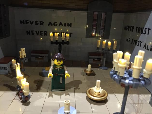 La salle des prières, sanctuaire de Terminus