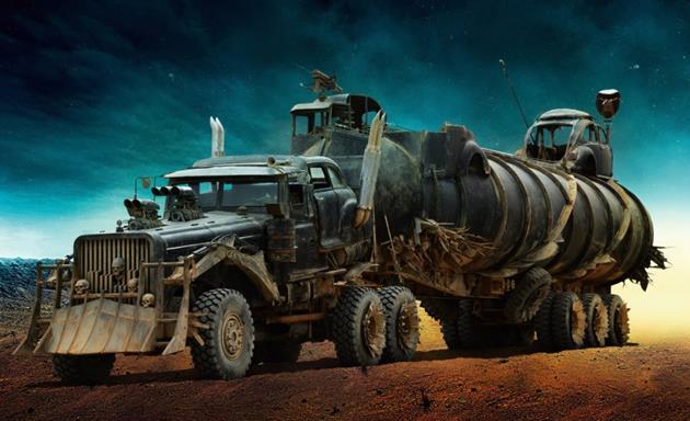 Le camion citerne à protéger dans Mad Max Fury Road