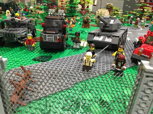Le gouverneur négocie avec Hershel et Michonne en otages