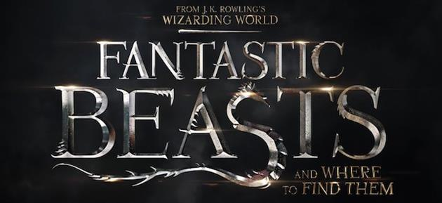 Le logo du film Fantastic Beasts