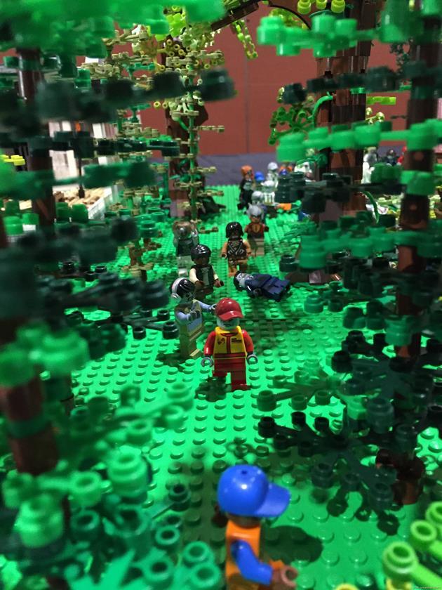 Les zombies ont envahis les forêts