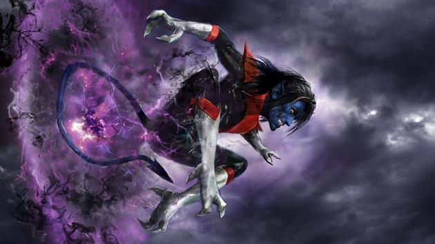 Nightcrawler, un mutant qui se téléporte