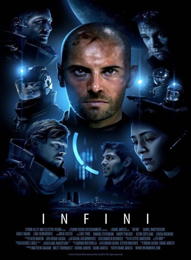 Poster du film Infini de Shane Abbess