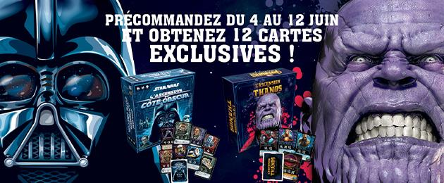 précommande jeu l'ascension de Thanos