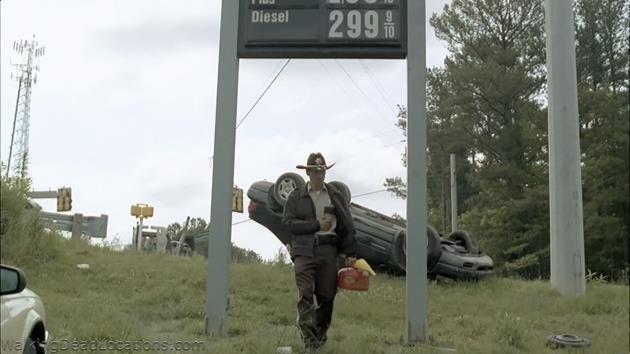 Rick à la recherche d'essence