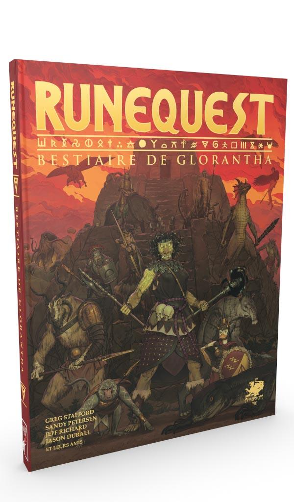 RuneQuest JdR 7e edition Deadcrows - Bestiaire Glorantha