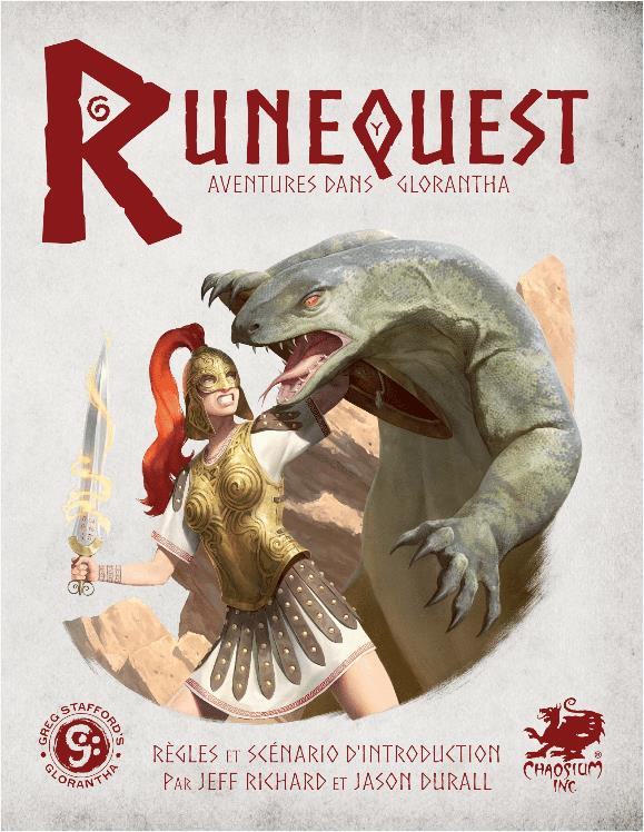 RuneQuest JdR 7e edition Deadcrows - Kit Initiation