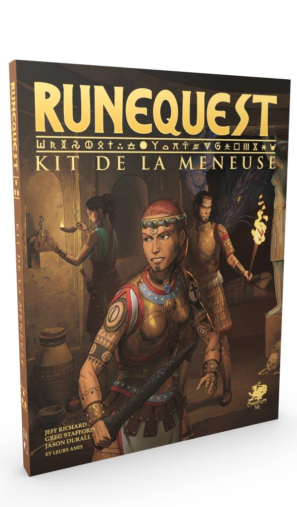 RuneQuest JdR 7e edition Deadcrows - Kit Meneuse