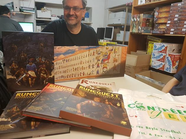RuneQuest JdR 7e edition Deadcrows - Tour JCC MJ