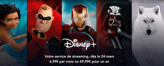Tarif Disney+