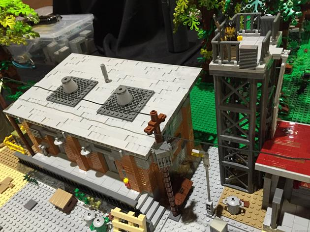 Un des hangars de Terminus