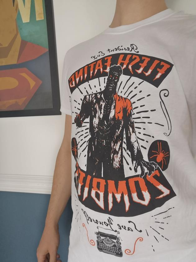 wootbox invaders mars t-shirt Resident Evil