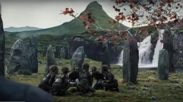 La Montagne au début de la création des Enfants de la Forêt