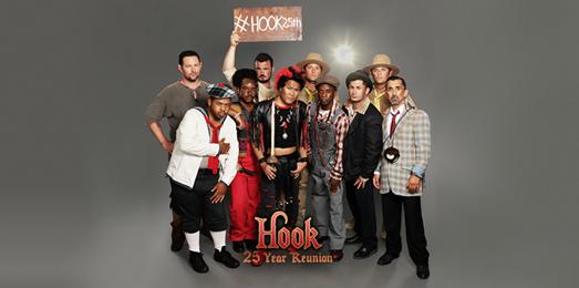 Le groupe des anciens enfants pour les 25 ans de Hook