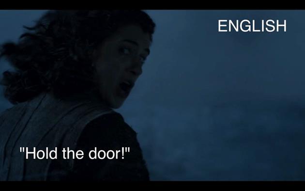 Origine de Hodor en anglais